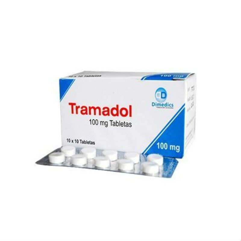 Tramadol Pain Reliever 100 Tablets