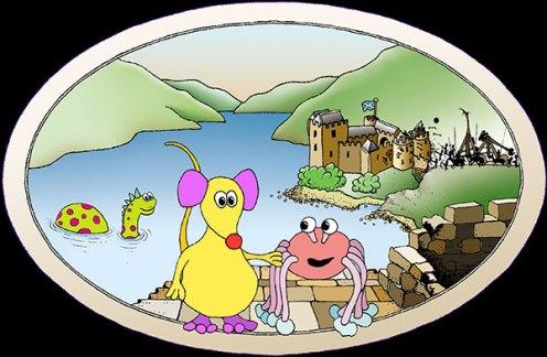 Oscar and the Highland Castle