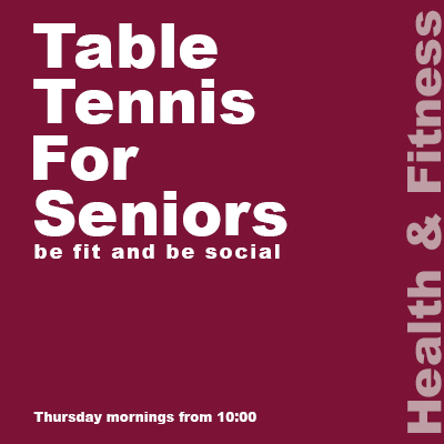 Seniors Table Tennis icon