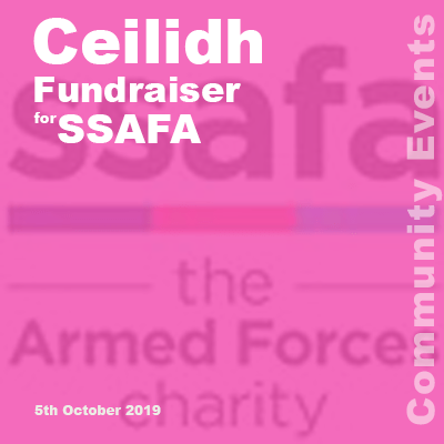 SSAFA Ceilidh link to page