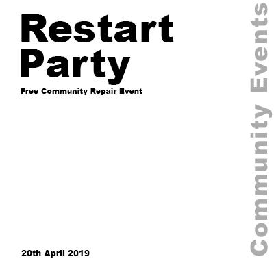 Restart Party April 2019