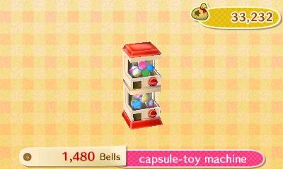 Capsule Toy Machine New Leaf HQ 7