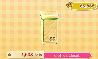 Clothes Closet  New Leaf HQ