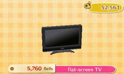 Flat Screen TV New Leaf HQ