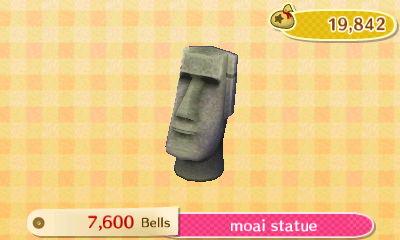 Moai Statue New Leaf Hq
