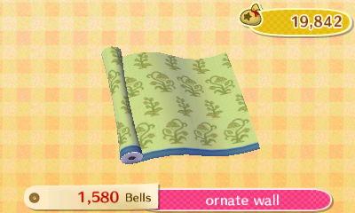 Ornate Wall  New Leaf HQ