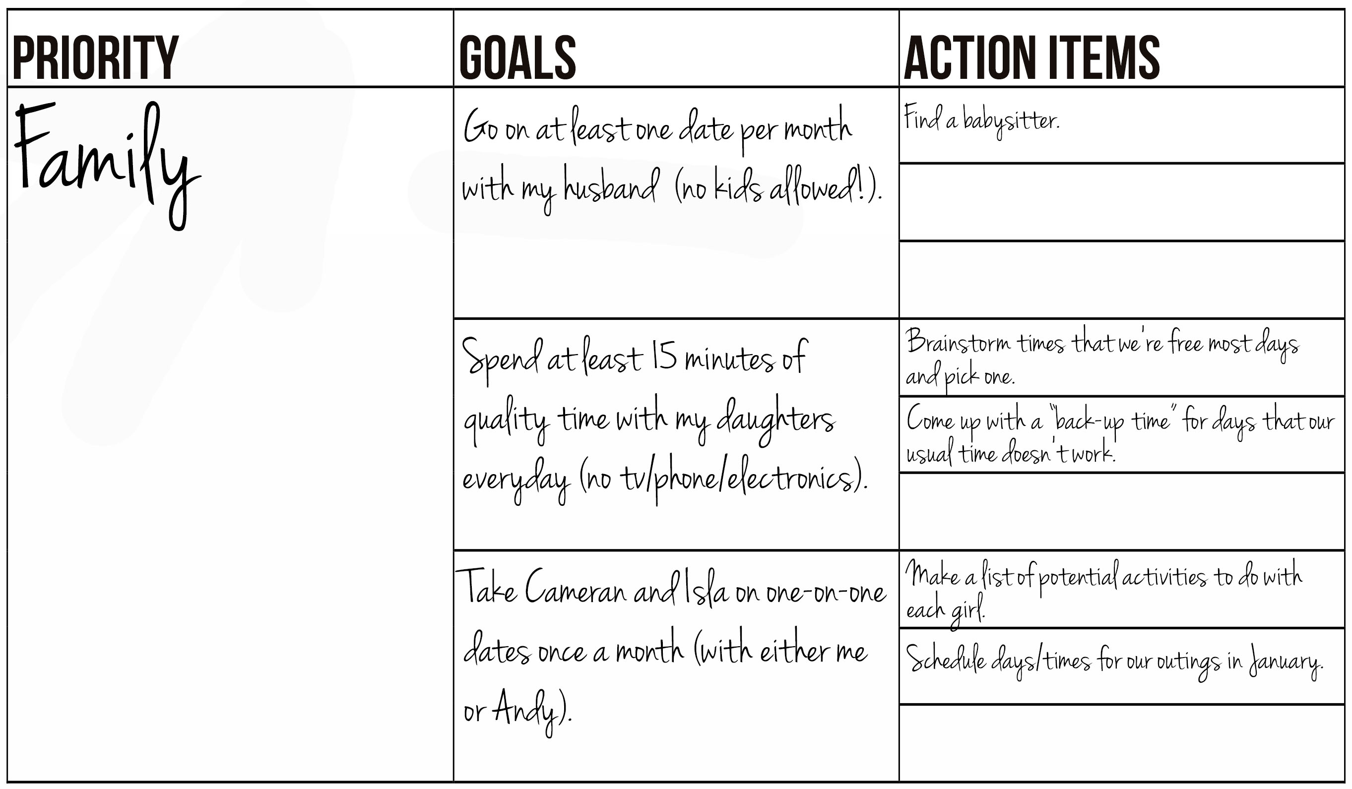 Free Printable Goal Setting Worksheet And Instructions New Leaf Wellness