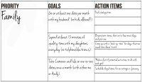 Free printable goal setting worksheet and instructions ...
