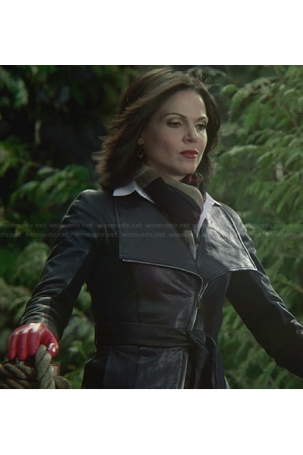 Once Upon a Time Regina Mills Leather Jacket