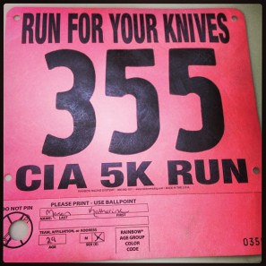 """CIA's """"Run for your Knives"""" 5K"""