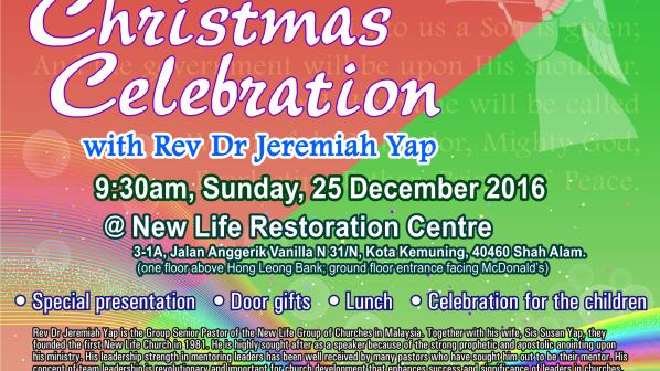New Life Restoration Centre Christmas 2016