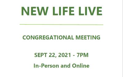New Life Live – September 22