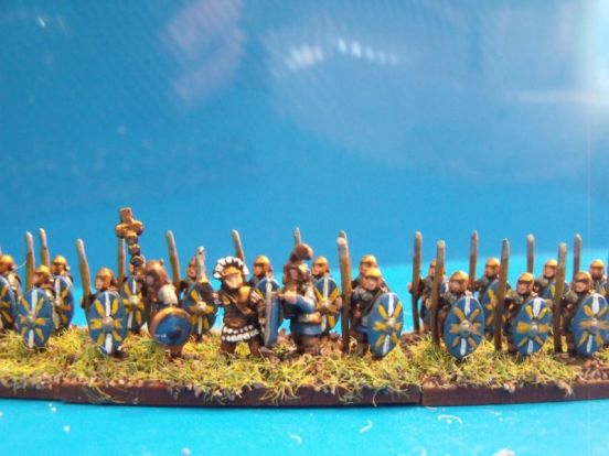 Auxilliary Spearmen Standing