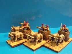 Seapeoples Oxcarts and crews