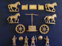 Assyrian 4 Horse Chariot
