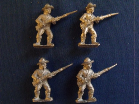 Infantry in Slouch Hat, Shell Jacket at Ready