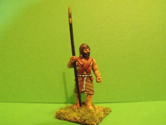 Akkadian Spearmen Standing