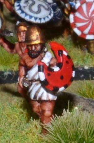 Unarmored Hoplites