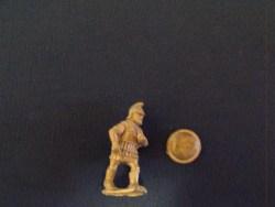 Pikemen in Thracian Helmet Advancing