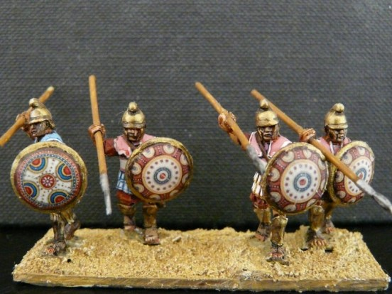 Macedonian Hypastpist Advancing