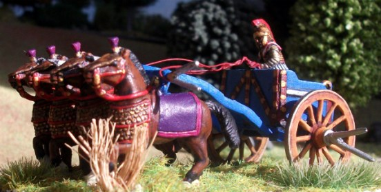 Persian Scythed Chariot
