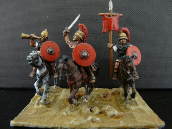 Mounted Roman Command