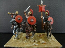 Mounted Roman Command