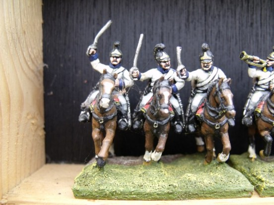 Austrian Dragoon Charging