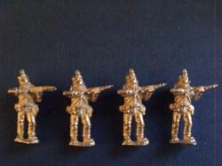 Rifles Standing Firing