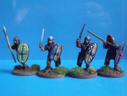 Celtic Warriors in Mail