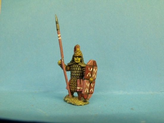 Dwarf - Standing, Armoured with Spear
