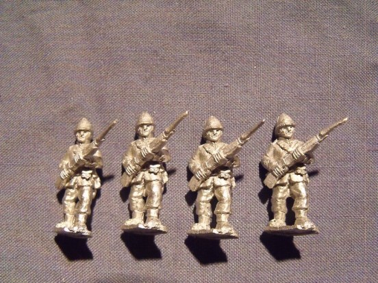 Infantry at the Ready