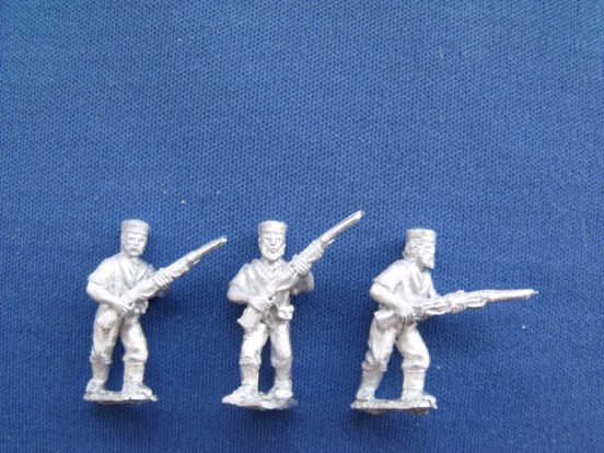 Naval Brigade with Rifles Advancing