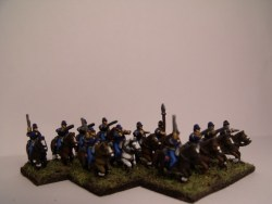 Cavalry in Kepi