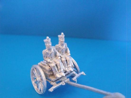 Horse Artillery Limber And Crew