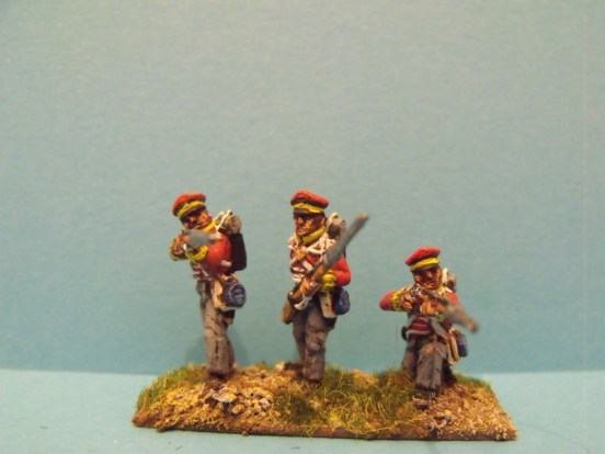 Hanoverian Landwehr Firing