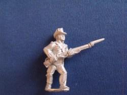 British Marine, Round hat, Advancing