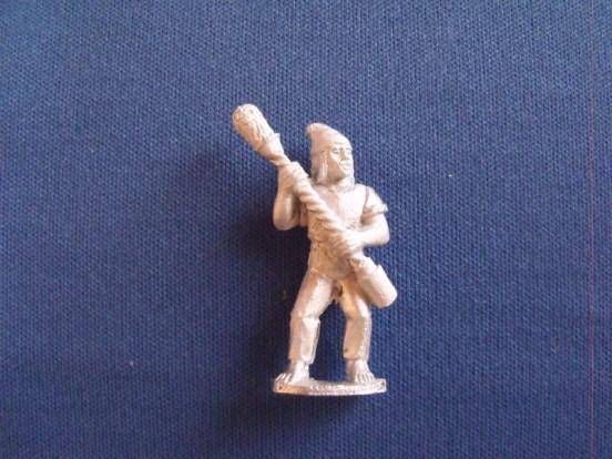 French Gunner with Rammer, woollen hat, shirt