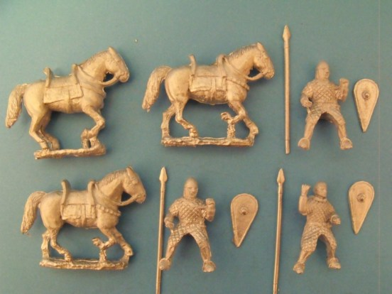 Cavalry in Quilted Armour