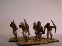 Painted Egyptian Archers