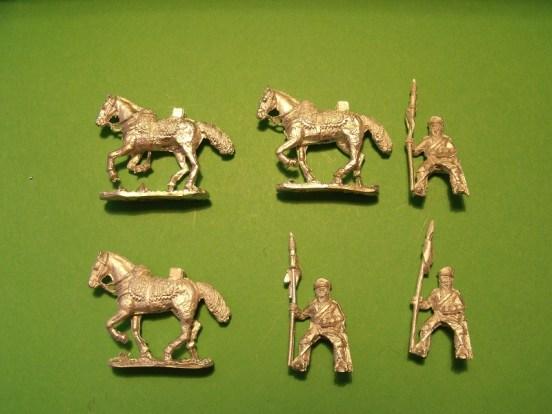 Landwehr Cavalry with Lances