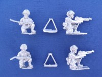 NATO British 2-Man HMG Team
