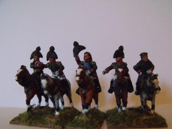 Russian Mounted Generals