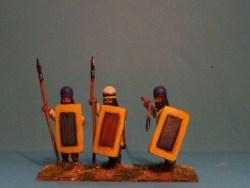 Levy Spearmen Standing