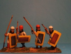Levy Spearmen Advancing