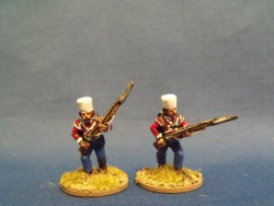 Sepoy Infantry Advancing