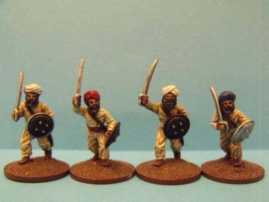 Sikh Irregular Infantry Advancing