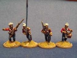 Sikh Regular Command Advancing
