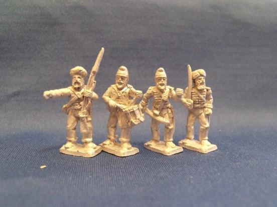 Sikh Regular Command Standing