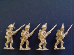 Spanish Line Advancing in Bicorne